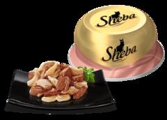 Sheba Ассорти из цыпленка с уткой 80 гр