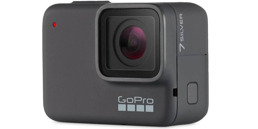 GoPro HERO7 Silver Edition (CHDHC-601-LE) вид сбоку