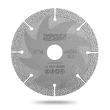 Алмазный диск для резки и шлифовки металла Messer Cut' n 'Grind. Диаметр 125 мм.