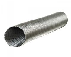 Полужесткий воздуховод ф 125 (1м) из нержавеющей стали Термовент
