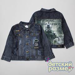 Куртка (принт-вставка, нашивки)