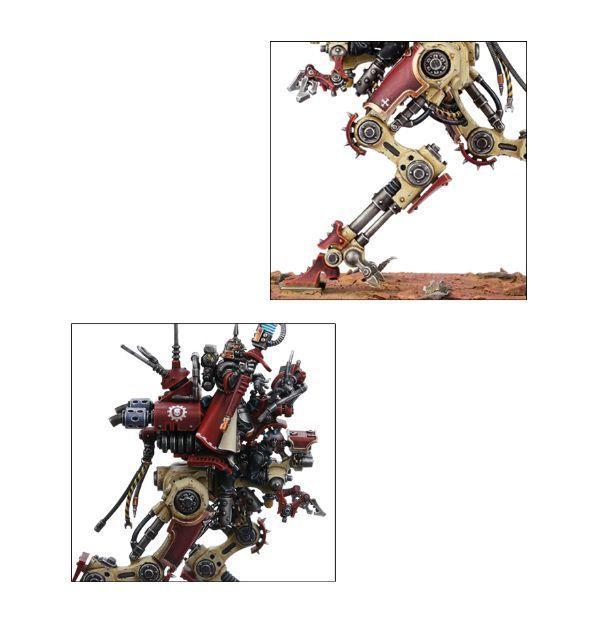 Adeptus Mechanicus Ironstrider. Детали