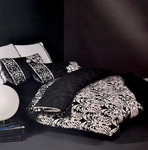 Постельное белье 2 спальное евро Mirabello Orvieto 1 графит