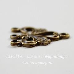 Винтажный декоративный элемент - коннектор