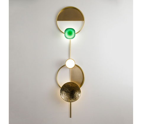 Wall lamp Gioielli 04 by Giopatto & Coombes