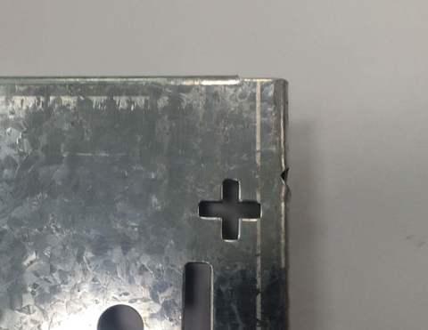 Металлическая перфорированная панель для инструмента, МПП1 (крепление к стене)
