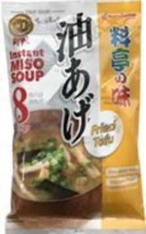 Instant Miso Soup Ryoutei No Aji Fried Tofu 8 servings