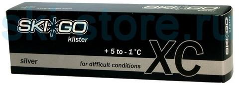 клистер Skigo XC Klister Silver +5/-1, 60 г