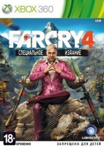 Microsoft Xbox 360 Far Cry 4 (русская версия)
