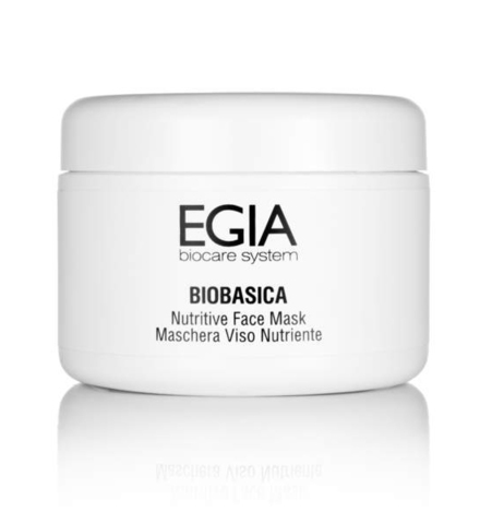 *Маска питательная/Nutritive Face Mask (EGIA/BIOBASICA/250мл/FPS-17)