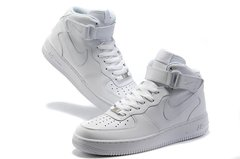 Nike Air Force 1 Mid '07 High (all white) - (004)