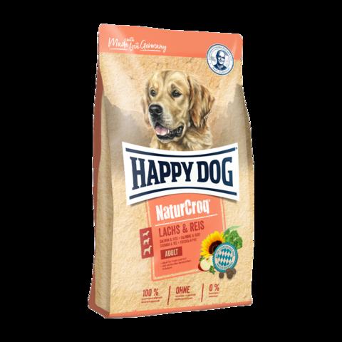 Happy Dog NaturCroq Сухой корм для собак с лососем и рисом