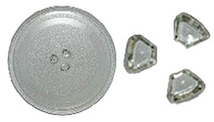 Тарелка СВЧ Panasonic 245 мм с креплением