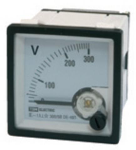 Вольтметр В72П 600В-1,5 TDM