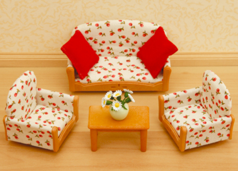 """Набор """"Мягкая мебель для гостиной"""" Sylvanian families 4464 (2922S)"""