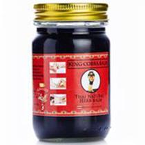 Thai Kinaree Тайский Черный Бальзам с коброй Herb King Cobra Balm, 50 г