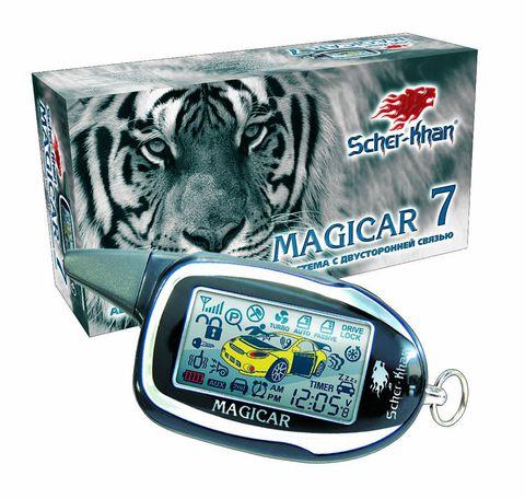 Автомобильная сигнализация Scher Khan MAGICAR 7
