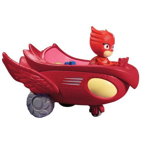 Игровой набор Алет (Owlette)  с машиной - Герои в Масках, PJ Masks