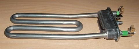Тэн для стиральной машины Indesit (Индезит)/Ariston (Аристон) 087188, 1800W немного изогнут, 170mm с отв.ПРОМО