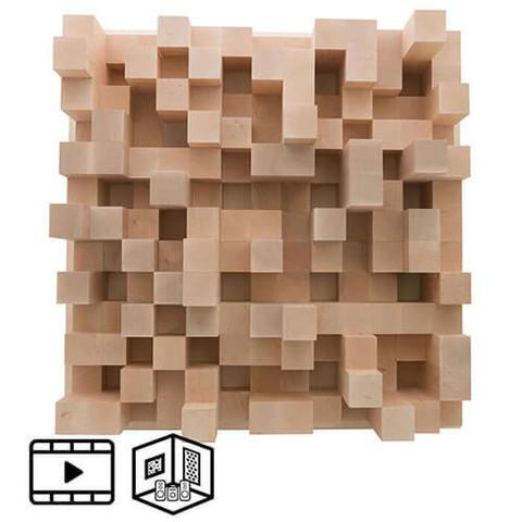 Акустический деревянный диффузор Echoton Pixels