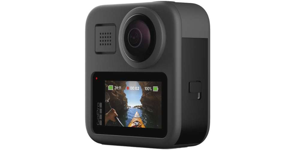 Экшн-камера GoPro MAX ЖК-экран