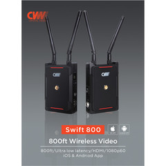 Беспроводной передатчик видео Crystal Video Swift 800  HDMI