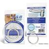 Стальное эрекционное кольцо BlueLine STEEL COCK RING (d. 4,5 см.)