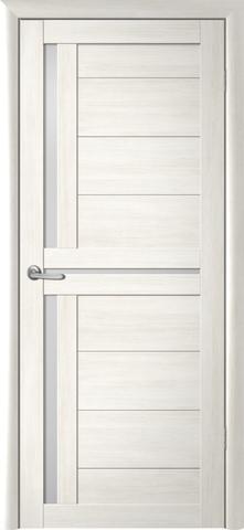 Дверь Фрегат ALBERO Кельн, стекло матовое, цвет кипарис белый, остекленная