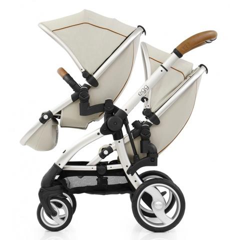 Egg Прогулочный блок для второго ребенка Tandem Seat Prosecco & Champagne Chassis