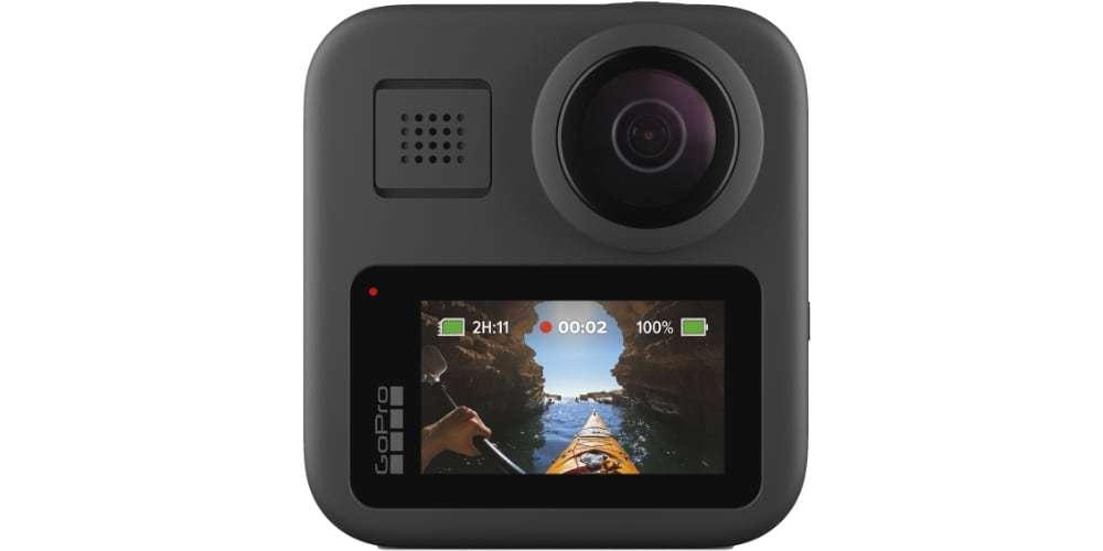 Экшн-камера GoPro MAX ЖК-экран в профиль
