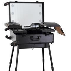 Мобильные студии визажиста Бьюти кейс визажиста на колесиках (мобильная студия) LC015 Premium Black Бьюти-кейс-на-колесах-LC015-1.jpg