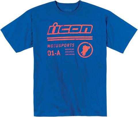 Icon Flyryte синяя футболка