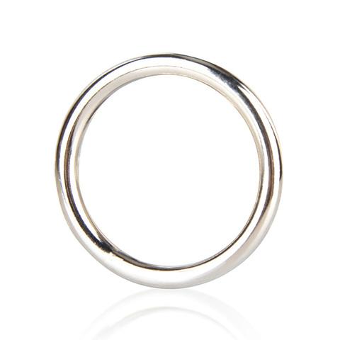 Стальное эрекционное кольцо на член BlueLine STEEL COCK RING (d. 4,5 см.)