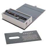 Перьевая ручка Parker Sonnet Core F528 Matte Black GT перо сталь F (1931516)
