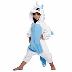 Пижама кигуруми Единорог голубой — Pajamas kigurumi Unicorn