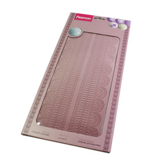 8463 FISSMAN Коврик для мастики текстурный 39x17 см