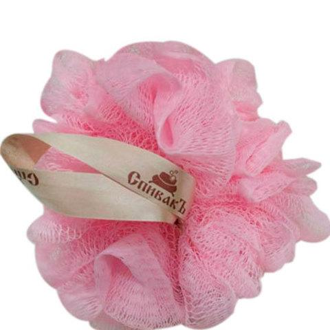 СпивакЪ Мочалка-бант розовая
