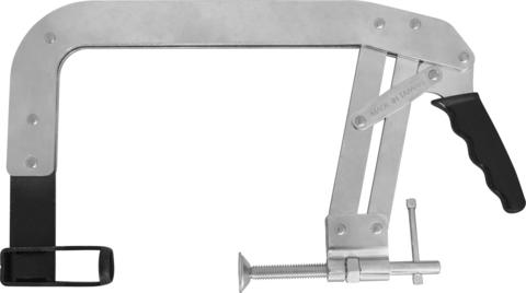 AI020016 Рассухариватель клапанов С-образный, диапазон захвата 76-135 мм, глубина скобы 150 мм