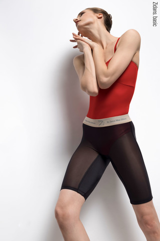 Translucent Ziphirus velo leggings Zlack | black