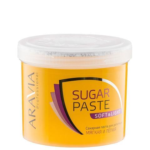 Паста сахарная Мягкая и легкая для депиляции 750г Аравия