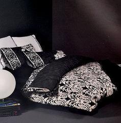 Постельное белье 2 спальное евро макси Mirabello Orvieto 1 графит