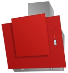 Вытяжка Maunfeld Enver 80 нержавейка, красное стекло