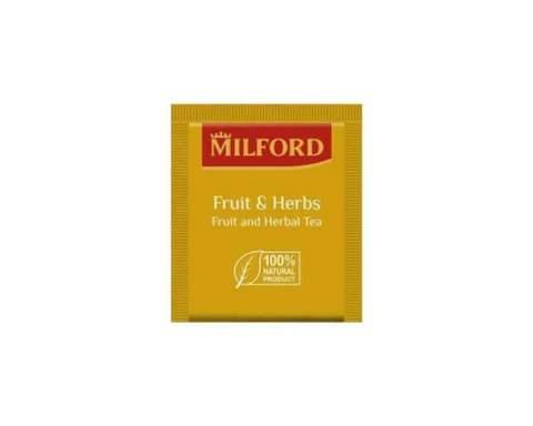 Чай фруктовый в пакетиках Milford, 200 пак/уп