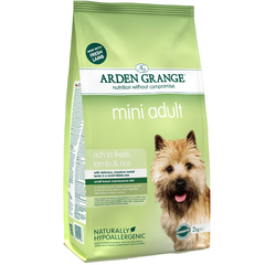 Arden Grange Adult Mini lamb & rice для взрослых собак мелких пород