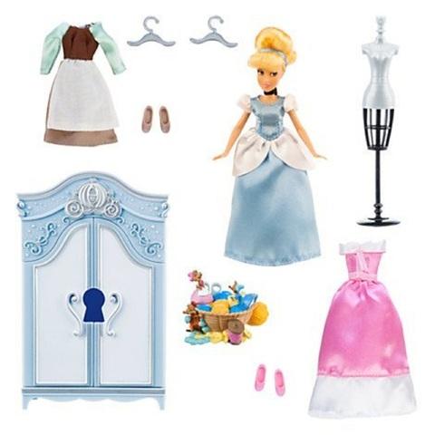 Дисней Золушка Игровой набор с мини куклой