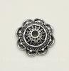 Шапочка для бусины 14х6 мм (цвет - античное серебро)