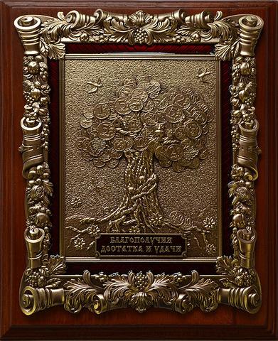 Деревянная ключница настенная малая