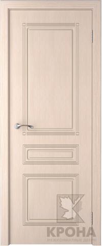 Дверь Крона Стиль, цвет беленый дуб, глухая