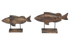 Декор Secret De Maison Фиш (FISH) ( mod. M-10734 ) — коричневый