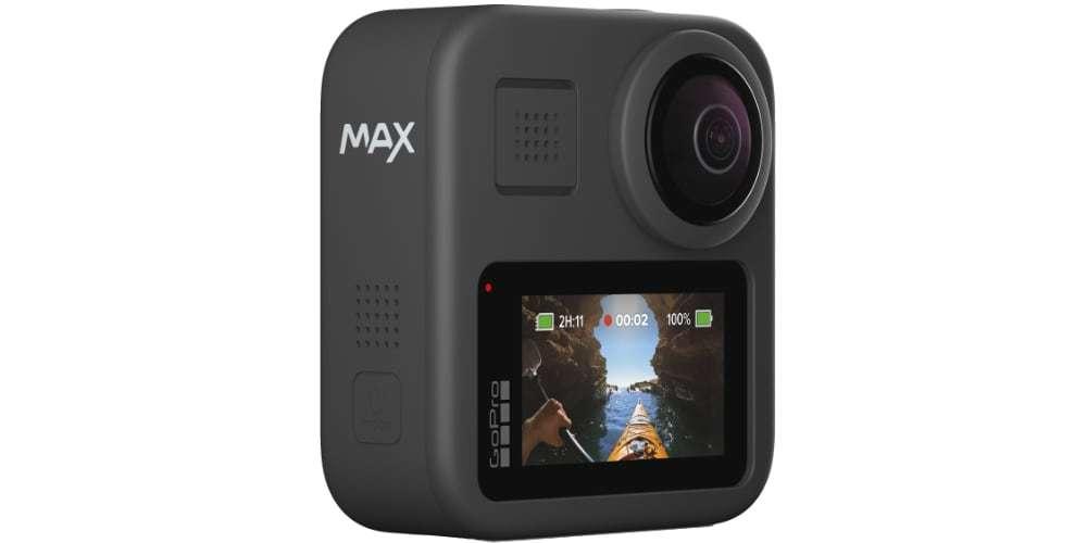 Экшн-камера GoPro MAX ЖК-экран вид сзади